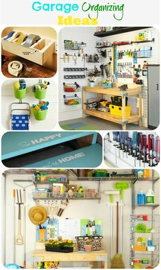 Garage organizing inspiration