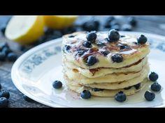 Ricotta Blueberry Pancakes Recipe - YouTube