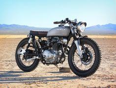 Aaron Millar's Honda CB350 Brat Style #motorcycles #bratstyle #motos | caferacerpasion.com