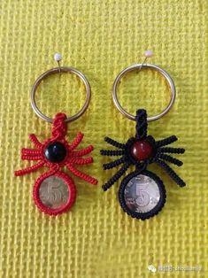 反斜卷结乌龟小摆件的制作图解-编织乐论坛 Paracord, Origami, Diy And Crafts, Earrings, Pattern, How To Make, Handmade, Youtube, Tutorials