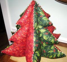 Sweet Bee Buzzings: Rick-racking around...the Christmas tree (mini tutorial)