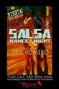 SALSA DANCE CLASSES IN ORANGE COUNTY  You are invited as we open up Still Water to a fun, energy filled evening where participants will learn the basics of SALSA DANCING! We will be hosting exciting Salsa 101 classes with Celebrity Salsa Dance Coach, Eric Romero.  Cost per 'Dance Class' is $20.00 for walk in's and $65.00 for 5 weeks.