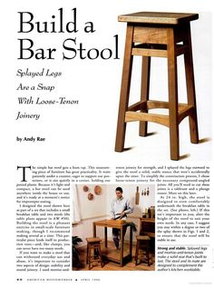 Bar stools seem to have graced every home in America at one time or another. My family ran into a need recently since I am building a pub table for a sun ...  sc 1 st  Pinterest & Trendy Furniture: Dashing DIY Bar Stools | Bar stool Stools and Bar islam-shia.org