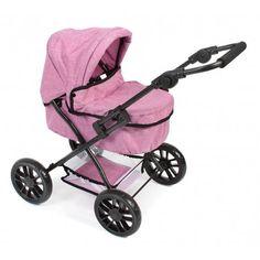 Wózek dla lalek Picobello Różowy Jeans - Bayer Chic 556 70