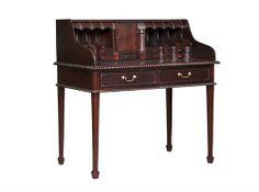 Bureau Table With Leather