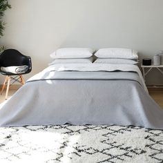 Geometric-pattern quilt and pillow cover - Quilts - Bedroom | Zara Home United States