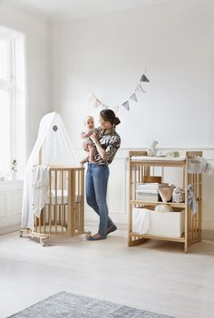 Baby gear and furniture that is stylish, sleek and sustainable from @StokkeBaby!