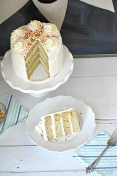 Awesome Photo of Gluten Free Dairy Free Birthday Cake . Gluten Free Dairy Free Birthday Cake Gluten Free Dairy Free Vanilla Cake That Is The Perfect Gluten Free Dairy Free Vanilla Cake, Dairy Free Baking, Easy Gluten Free Desserts, Gluten Free Cakes, Keto Desserts, Dairy Free Birthday Cake, Dessert Recipes, Free Recipes, Healthy Recipes