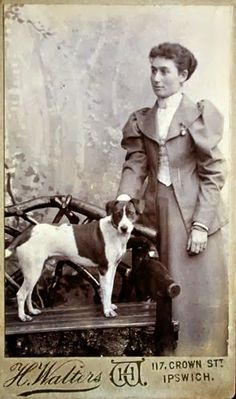 Vintage Doggy: The Terrier from Ipswich