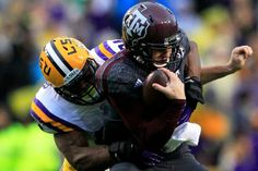 If Johnny Manziel Wasn't Ready for LSU's Defense, Will He Be Ready for the NFL?   Bleacher Report