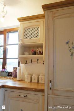 """Kuchnia ręcznie malowana """"Jasna"""" - zdjęcie od Marzena Wieczorek - Kuchnia - Styl Prowansalski - Marzena Wieczorek"""