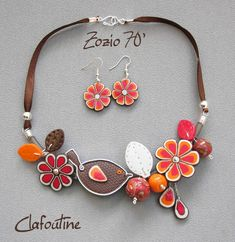Zozio 70, Clafoutine, polymer clay.