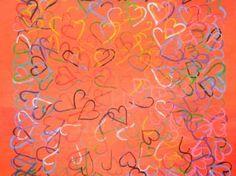 "Saatchi Art Artist Theodora Papoulidoy; Painting, ""Lovers"" #art"