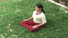 #Yoga Exercise for Beginners - Sukha Asana (Easy Pose) - Strengthens the Shoulders