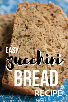 Healthy zucchini bread doesn't have to sacrifice flavor or the soft texture you love about this quick bread. Make yours gluten free, low sugar and free from vegetable oil! Moist Zucchini Bread, Gluten Free Zucchini Bread, Healthy Zucchini, Easy Recipes For Beginners, Easy Homemade Recipes, Bread Recipes, Real Food Recipes, Gluten Free Quick Bread, Slow Cooker Bread