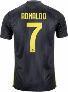 6a68d253f Men s Juventus  7 Cristiano Ronaldo Jersey Black Soccer 2018 2019 Season