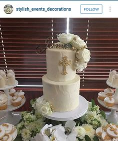Baptism Christening Cake