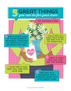5 great things you can do for your mom on Mother's Day