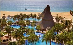 The Finesterra, Cabo San Lucas, Mexico - my favorite hotel in Cabo!  Beautiful resort with fabulous pools and great location.