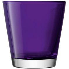 Set of 6 LSA International, Asher tumbler, violet