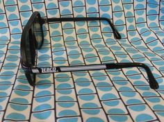 Vtg 80s awesome rad polarized black fishing by thepinkowlvintage, $34.00