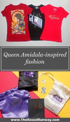 Queen Amidala-inspired fashion - The Kessel Runway