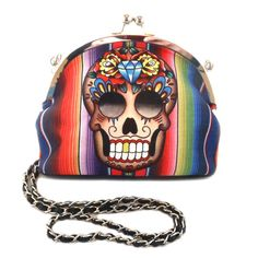 Mexican Skull Purse by Jubly-Umph