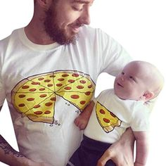 Pizza Slice Dad Son Matching Shirts Family Outfits Whole Pizza 1 Slice Missing Daddy Daughter Dad und Baby Shirts Family Outfits Pizza Shirt 2 Artikel inklusive: 1 Adult T Shirt & 1 Baby Bodysuit oder Kids T Shirt * * * Vater Daughter Matching Shirts Father And Baby, Daddy And Son, Dad Baby, Dad Daughter, Father Daughter Shirts, Tee Shirt Papa, Tee Shirt Homme, Dad And Son Shirts, Baby Shirts