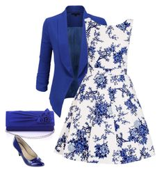 """Feeling blue"" by muts12 on Polyvore featuring LE3NO, Quiz and Rialto"