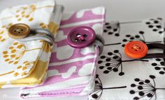 fabric business card holders