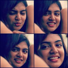 Simply Petfect 10 Collage Of The Most Coy & Shy Smiles Of NAZRIYA NASIM..Simply Heart Stealer!!