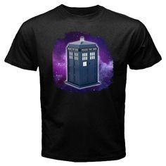 Hot New Custom printed Doctor Who Design Black t-shirt size S M L XL 2XL 3XL, $24.99