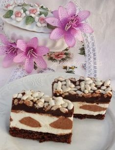 Aleda konyh& P& kr& cukor Hungarian Cake, Cake Recipes, Dessert Recipes, Croatian Recipes, Chocolate, Tiramisu, Cheesecake, Food And Drink, Cooking Recipes