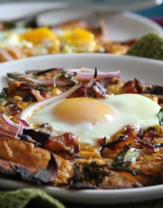 bacon egg and cheese breakfast chili fries bakerbynature more bacon ...