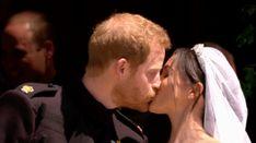 Prince Harry and Meghan Markle Share Their Official Royal Wedding Kiss Princess Meghan, Prince Harry And Meghan, Disney Instagram, Instagram Girls, Meghan Markle, First Wedding Anniversary, Wedding Kiss, Royal Life, Royal Weddings