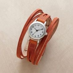 goucho leather watch by sheri