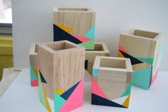 Hey, I found this really awesome Etsy listing at https://www.etsy.com/listing/488519444/hand-painted-geometric-storage-boxes
