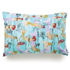 Mermaids Aqua Pillowcase