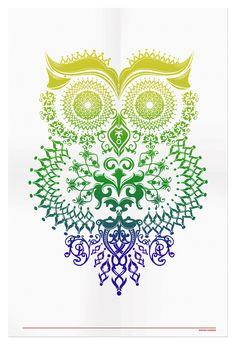 Owl Illustration - ++ narani kannan   portfolio ++