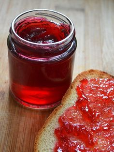 - Hedgerow Jelly Recipe Hedgerow Jelly Recipe ~ a versatile preserve that you can make using your choice of Blackberries, Raspberries, Elderberries, Damsons, Rose-hips and Jelly Recipes, Dessert Recipes, Desserts, Recipe Using Apples, Low Acid Recipes, Elderberry Recipes, Homemade Jelly, Jam And Jelly, Canning Recipes