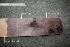 How To Make New Wood Look Old   laughingabi.com