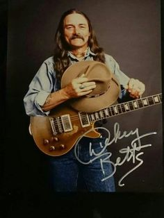 Dickey Betts is one of the Best Guitar players who ever lived Rock Roll, Dickey Betts, Ranger, Best Guitar Players, Allman Brothers, Rock Legends, Blues Rock, Cool Guitar, Les Paul