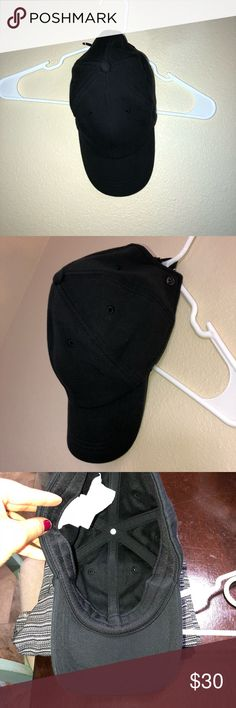 Lululemon Baller Hat Black hat worn once like new lululemon athletica Accessories Hats