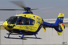 H135 SAMU helicopter, Photo : Gilles Paccalet