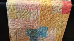 Colorful Bright Lap or Children's Sized Quilt by amazingstacy