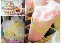 Pink and Yellow Vintage Carnival