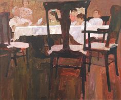 View Family gathered at dining room table illus. for McCalls Magazine by Bernard Bernie Fuchs on artnet. Browse upcoming and past auction lots by Bernard Bernie Fuchs. Fuchs Illustration, Ad Art, Portraits, Illustrations, Art Day, Painting Inspiration, Art History, Vintage Art, Character Design