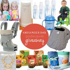 OLD Goodies Guide Giveaway for February   Oh Lovely Day #giveaway #baby