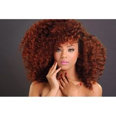 Luv her hair and color Curly Hair Tips, Natural Hair Tips, Natural Curls, Curly Hair Styles, Natural Hair Styles, World Hair, Wand Curls, Natural Hair Inspiration, Big Hair