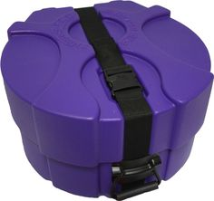 Purple Enduro Pro 6.5X14 Snare Drum Case with Foam